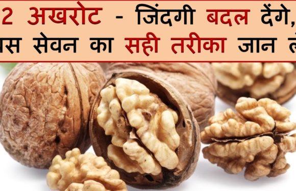 2 अखरोट – जिंदगी बदल देंगे, बस सेवन का सही तरीका जान लें / Benefits & Side Effects of Walnuts
