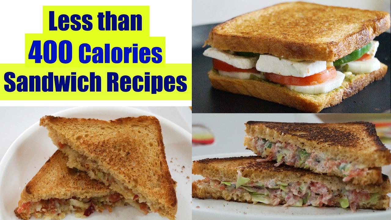 4 Healthy Sandwich Recipes   Weight Loss Recipes   Healthy Breakfas