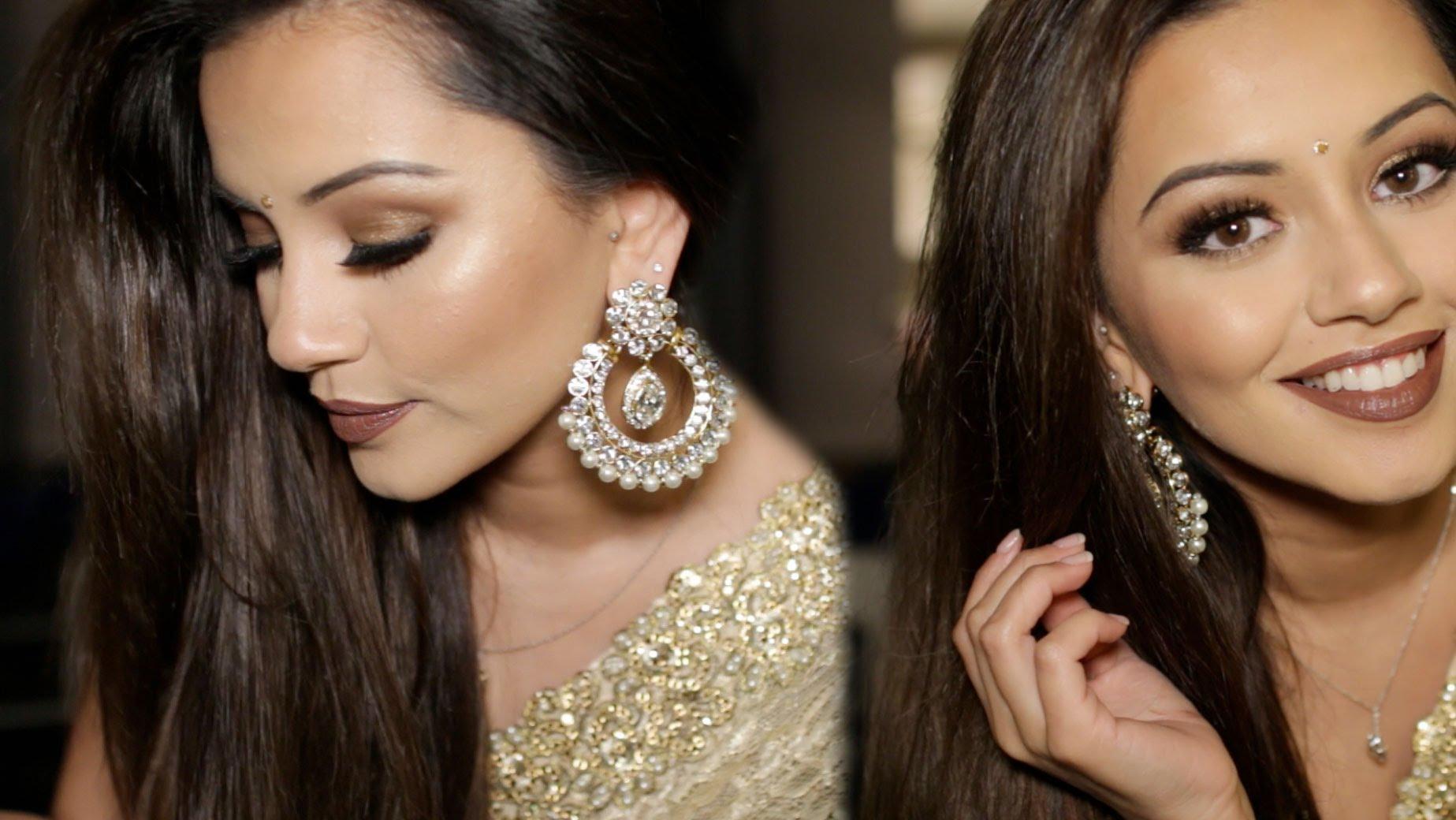 Diwali Makeup Tutorial 2015   Golden & Bronze Party Makeup – Best Website