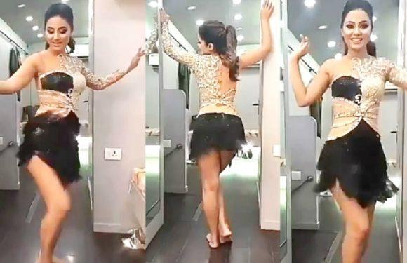 Hina Khan Dilbar Dilbar Dance At Star Parivaar Awards 2018