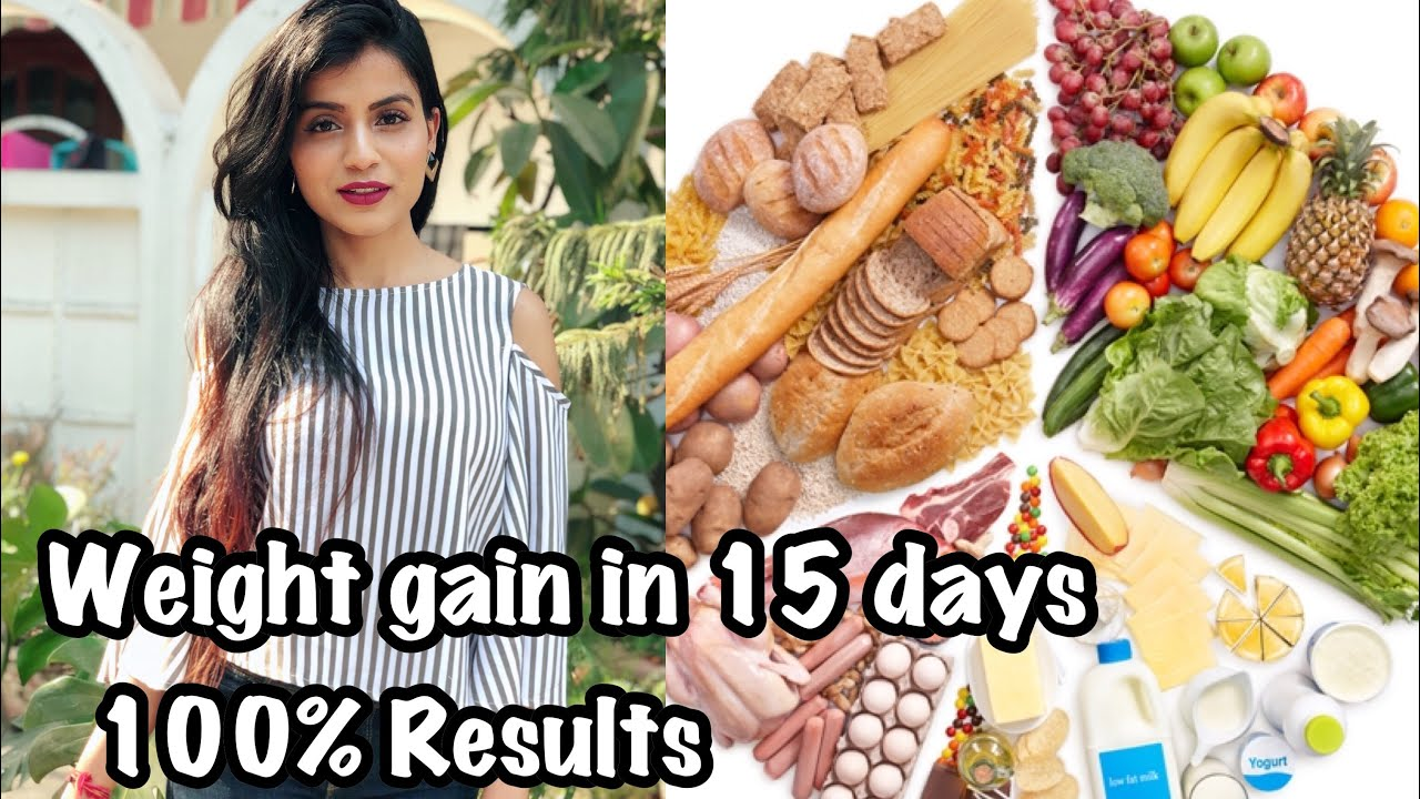 How to Gain Weight | My Weight Gain Diet Plan | What I Eat in a Day | Nidhi Chaudhary