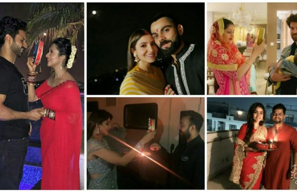 Indian Celebrities Celebrates Karva Chauth | Shilpa Shetty | Anushka Sharma | Divyanka Tripathi