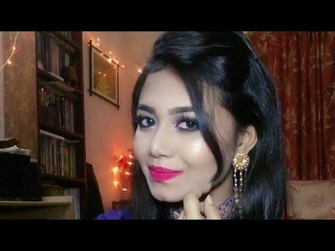 Indian Wedding Guest Makeup || mahendi,sangeet look || with 2 lip option