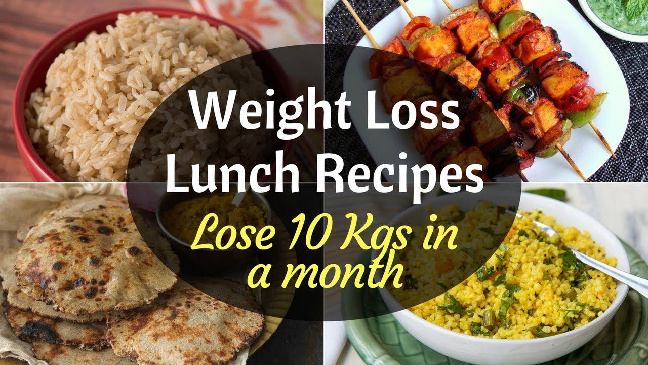 Indian Weight Loss Lunch Recipes  How to lose weight fast   Indian W