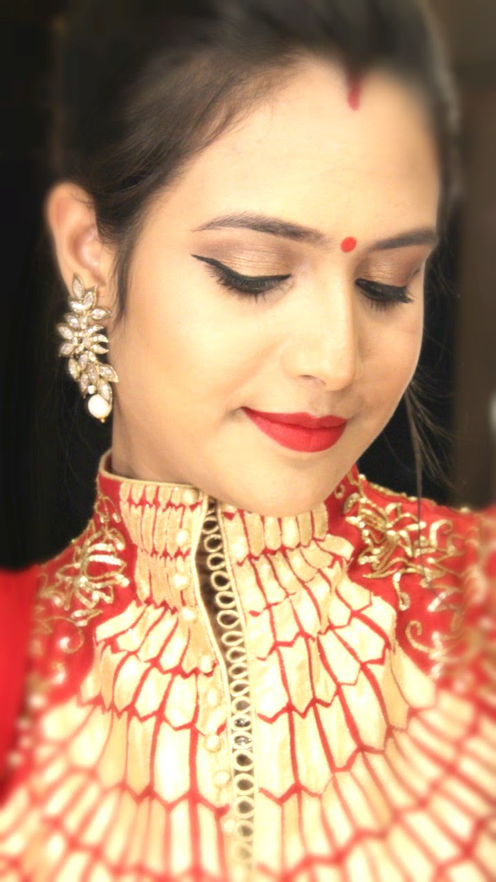 karva chauth makeup and hair style tutorial – best website