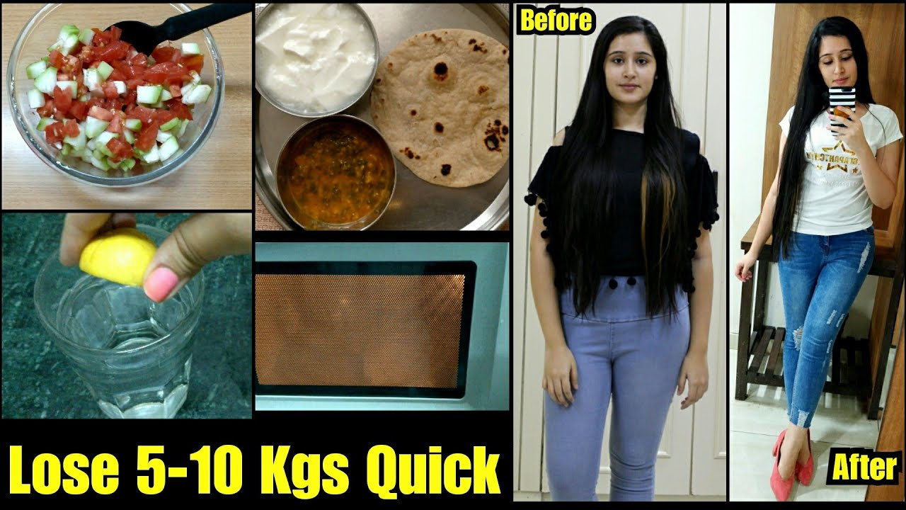 MONSOON WEIGHT LOSS DIET PLAN to Lose 5 Kgs in 2 weeks  Tried a
