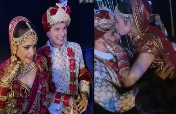 Prince Narula And Yuvika Choudhary Wedding Cute And Lovely Moment