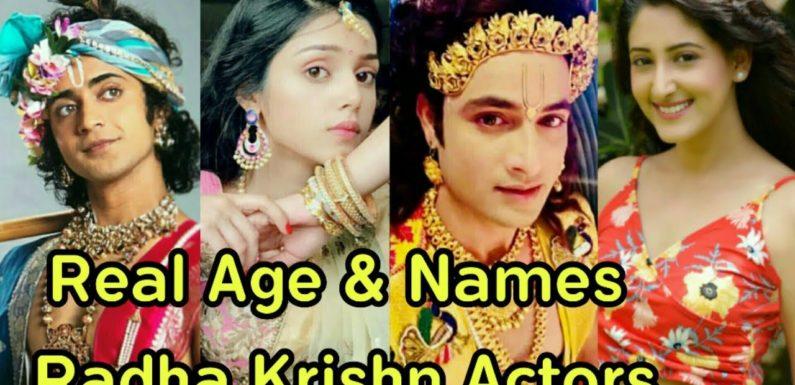Real Age and Real Names of Radha Krishn Cast Actors | Radha