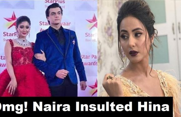 Shocking! Star Awards में naira ने की हिना की Insult | Watch Video | Naira Insulted Hina | FCN