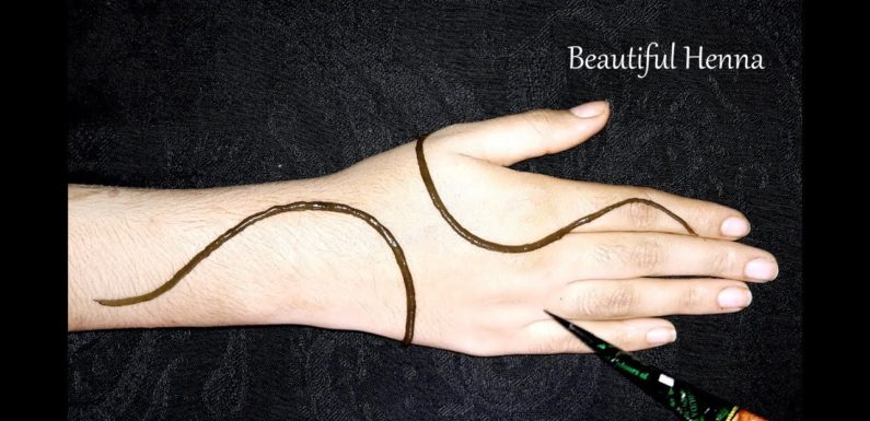 Simple Easy Letest Mehndi Design Stylish Mehndi For Hand