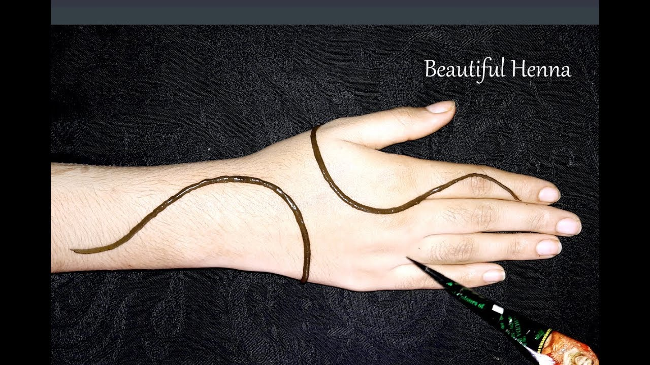 Simple Easy Letest Mehndi Design Stylish Mehndi For Hand