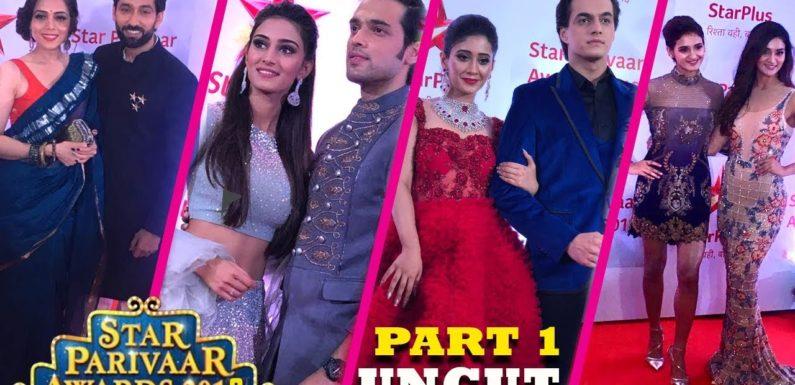 Star Parivaar Awards 2018 – Full HD UNCUT Part 1/2   Red Carpet