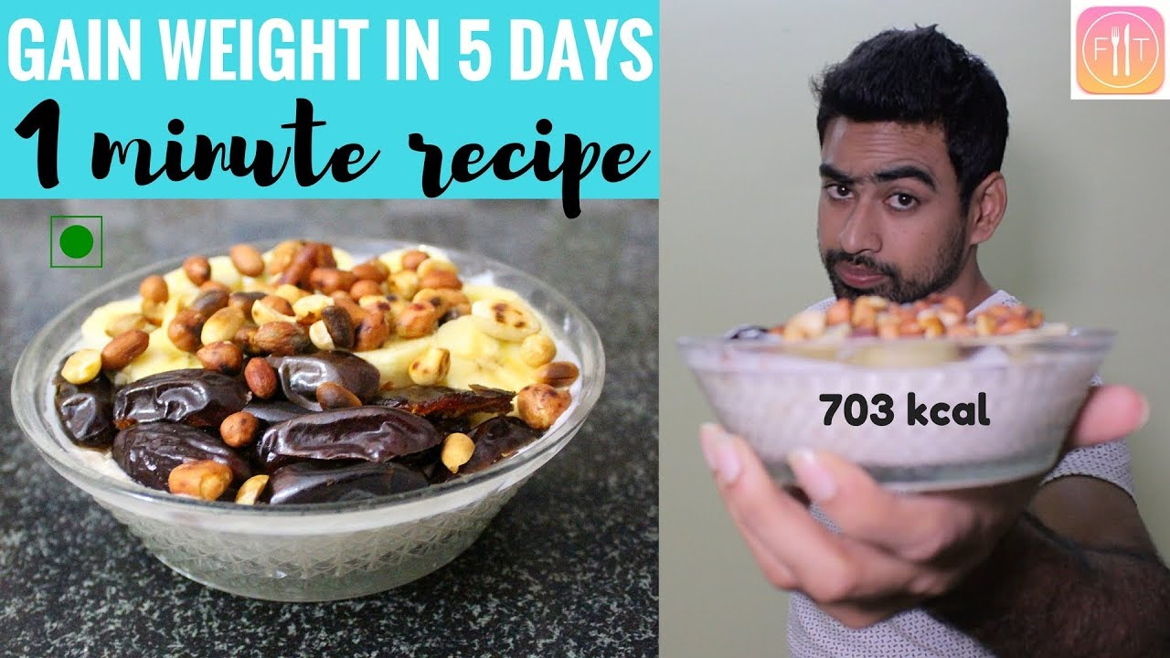 This Budget Meal will make you Gain Weight in just 5 days – NO COOKING