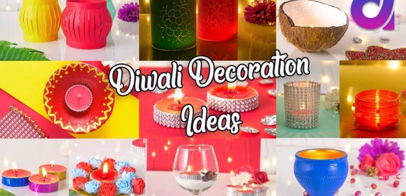 10 Very Easy diwali deoration ideas | Artkala