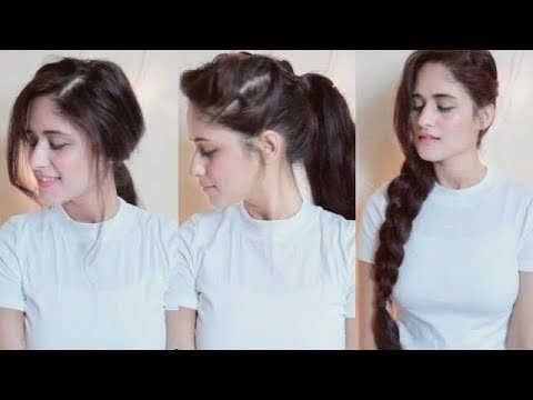 5 Easy Hairstyles For College , Office Girls | 1 Min Hairstlyes | Anukriti Lamaniya