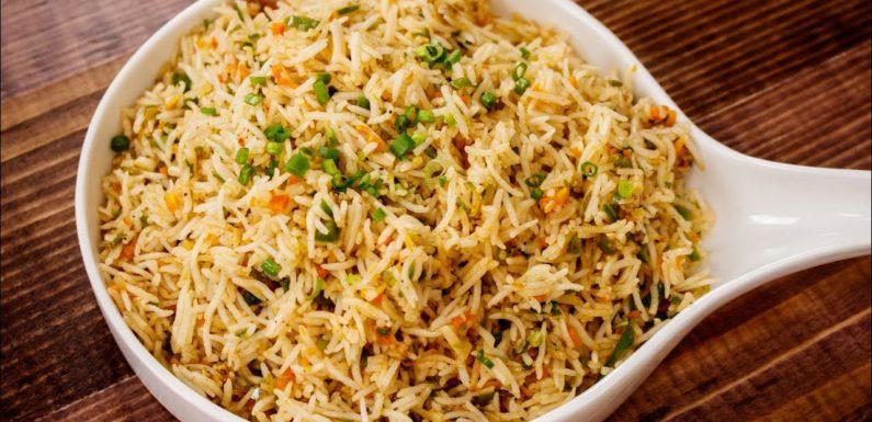 २ मिनट वाली वेज फ्राइड राइस – 2 Min Veg Fried Rice Street Style Recipe – CookingShooking