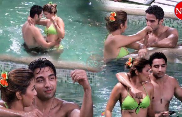 Bigg Boss 12: Rohit Suchanti & Jasleen Matharu Romance in Pool – Full Video Clip on Voot App