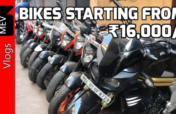 BIKES STARTING FROM RS.16,000/- (SECOND HAND BIKE MARKET – KTM, PULSAR, APACHE ) KAROL BAGH, DELHI