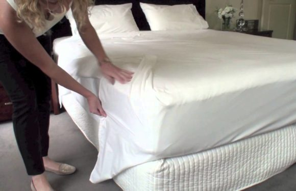 How to make neat corners with your bed sheets