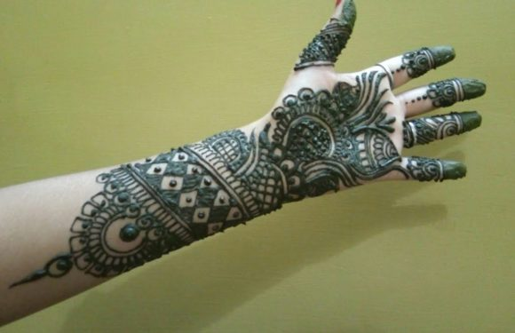 Mehndi design for bhai dooj.. step by step, creative ,new mehndi design.. mehndi designs by kajal..