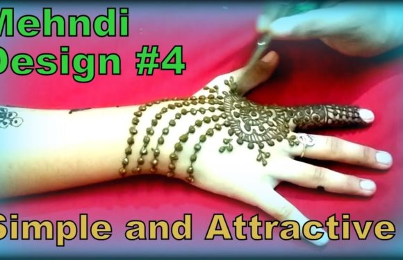 Mehndi Designs || Simple and Attractive Mehndi Design #4