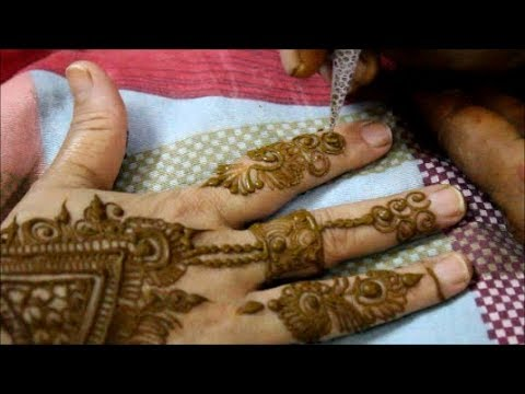 मेहँदी डिज़ाइन | MEHNDI/HEENA DESIGN FOR BACK HAND | BHAI DOOJ SPECIAL