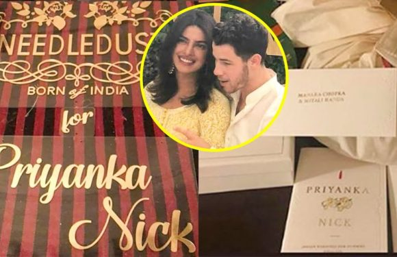 Priyanka Chopra and Nick Jonas ROYAL Welcome At Umaid Bhawan Palace With Goodies | INSIDE VIDEO