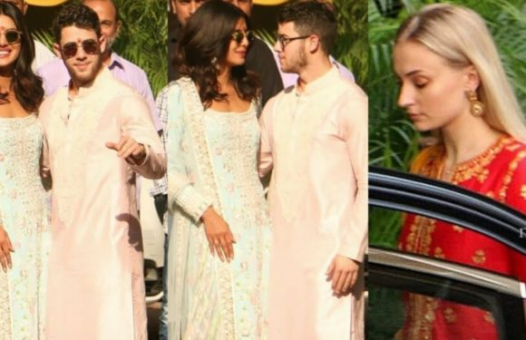 Priyanka Chopra & Nick Jonas Wedding Pooja At Priyanka's Mother's House