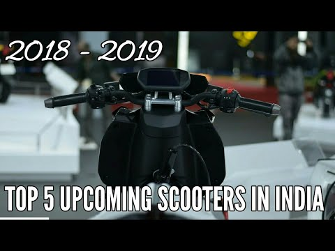 Top 5 Upcoming Scooters in India in 2018 – 2019