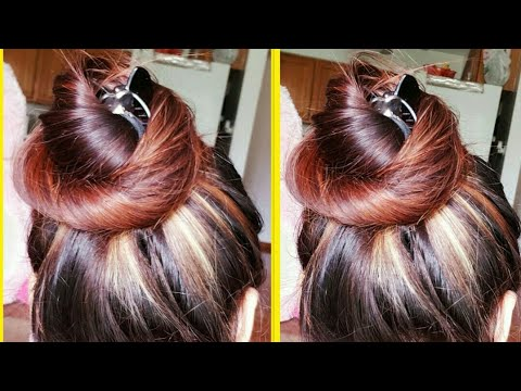 VOLUMINOUS BUN/JUDA USING CLUTCHER|EVERYDAY CLUTCHER HAIRSTYLES|JUDA HAIRSTYLE FOR LONG MEDIUM HAIR