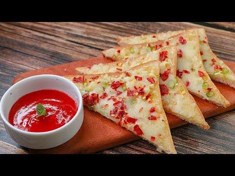 5 Mins Chili Cheese Toast | Easy Breakfast Recipe | Easy Snacks Recipe | Tiffin Box Idea | Toasted