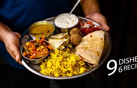 वेज थाली की टेस्टी आसान रेसिपी – lunch daily use veg thali recipes – cookingshooking