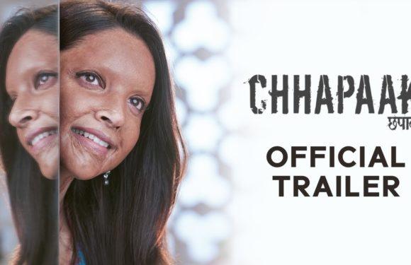 Chhapaak   Official Trailer   Deepika Padukone   Vikrant Massey   Meghna Gulzar   10 January 2020