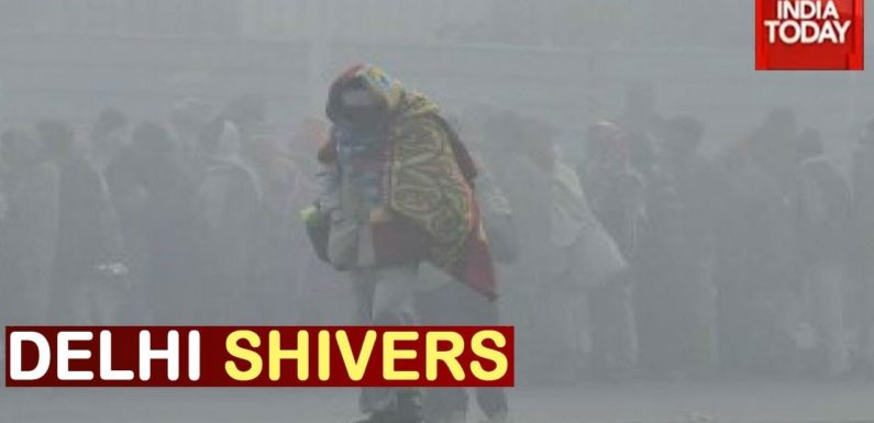 Delhi Shivers- Capital Witnesses Longest Cold Spell In 22 YRS
