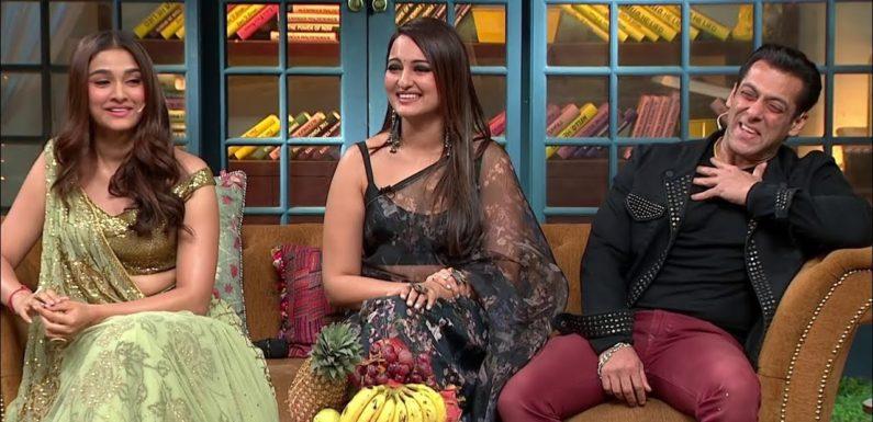 The Kapil Sharma Show – Movie Dabangg 3 Episode Uncensored | Salman Khan, Sonakshi, Saiee
