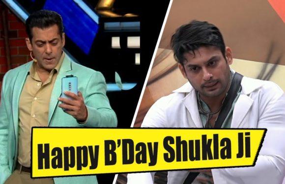 Weekend Ka Vaar | Bigg Boss| Sidharth Shukla Birthday Wish