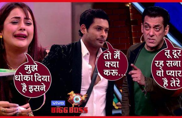 Bigg Boss 13 Review: Salman Ne Kiya Siddharth Ko Warn, Kaha Pagal Hain Woh Tera Pyaar Mein |BB13