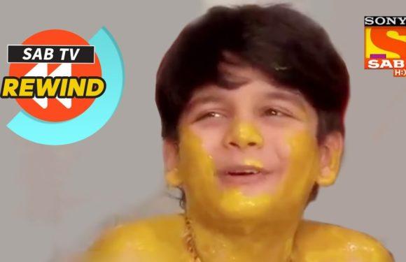Tapu Enjoys His Haldi Ceremony | Taarak Mehta Ka Ooltah Chashmah | SAB TV Rewind