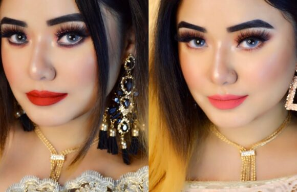 Day To Night Glam Party Makeup Transformation