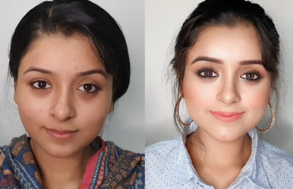 Farewell Party Makeup in 5 Minutes for School/College Girls, Easy Soft Everyday Makeup