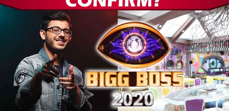 Bigg Boss 2020: Social Media Sensation Youtuber Carry Minati To Be Part Of The Show | Bigg Boss 14