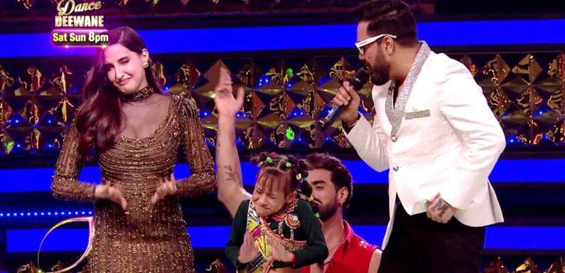 DANCE DEEWANE 3 PROMO: Nora Fatehi & Mika Singh ने सीखा Gunjan से Dance